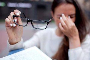 از دست دادن بینایی