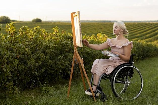 داشتن سرگرمی برای معلولین